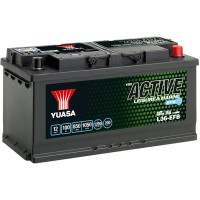 Baterie Hobby Yuasa YBX Active Leisure & Marine EFB 100 Ah (L36-EFB)
