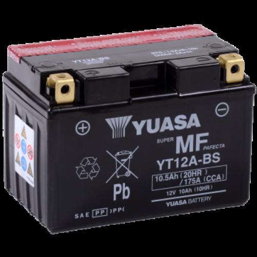 Baterie Moto Yuasa AGM 10 Ah (YT12A-BS)