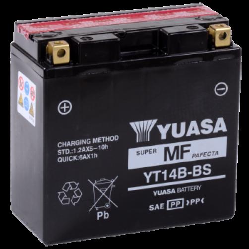 Baterie Moto Yuasa AGM 12 Ah (YT14B-BS)