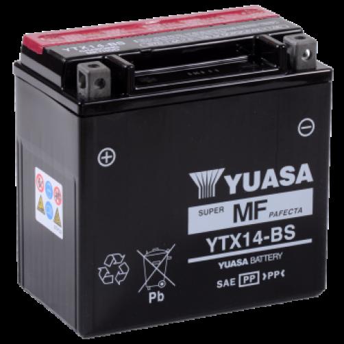Baterie Moto Yuasa AGM 12 Ah (YTX14-BS)