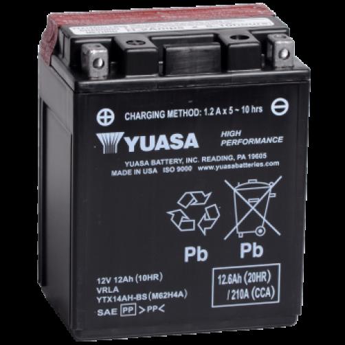 Baterie Moto Yuasa AGM 12 Ah (YTX14AH-BS)