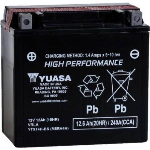 Baterie Moto Yuasa AGM 12 Ah (YTX14H-BS)