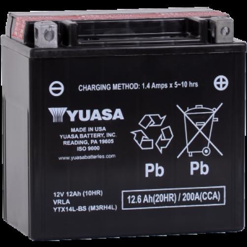 Baterie Moto Yuasa AGM 12 Ah (YTX14L-BS)