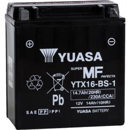 Baterie Moto Yuasa AGM 14 Ah (YTX16-BS-1)