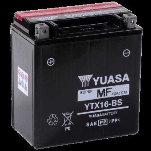 Baterie Moto Yuasa AGM 14 Ah (YTX16-BS)