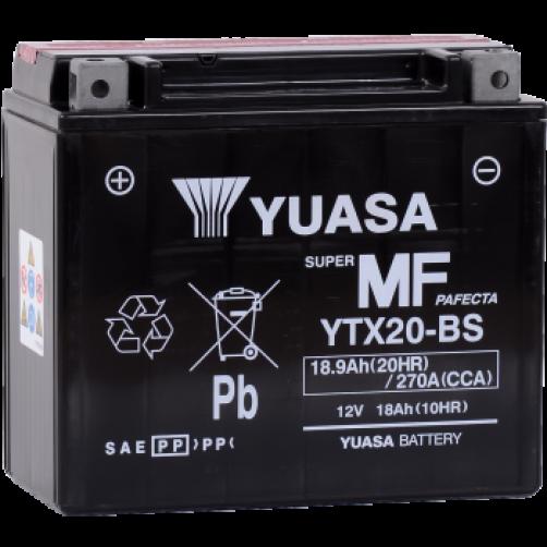 Baterie Moto Yuasa AGM 18 Ah (YTX20-BS)