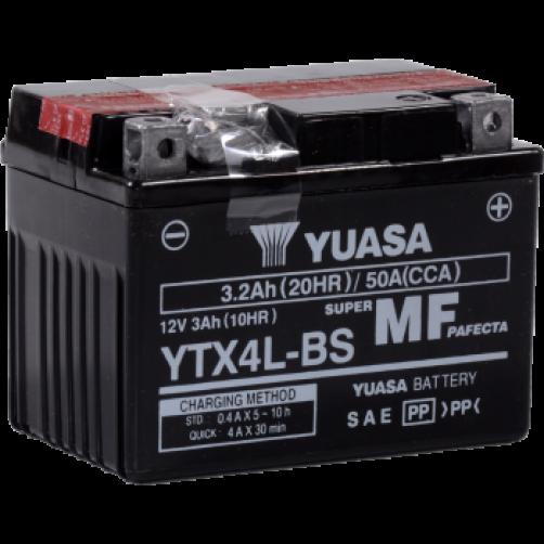 Baterie Moto Yuasa AGM 3 Ah (YTX4L-BS)