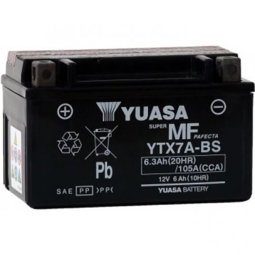 Baterie Moto Yuasa AGM 6 Ah (YTX7A-BS)