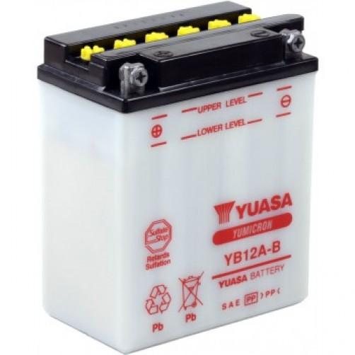 Baterie Moto Yuasa YuMicron 12 Ah (YB12A-B)