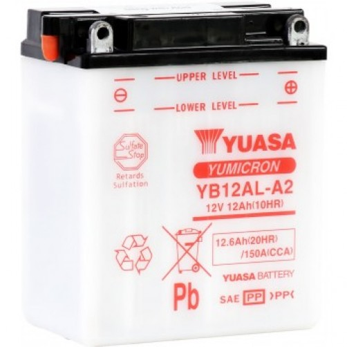 Baterie Moto Yuasa YuMicron 12 Ah (YB12AL-A2)