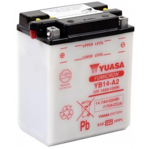 Baterie Moto Yuasa YuMicron 14 Ah (YB14-A2)