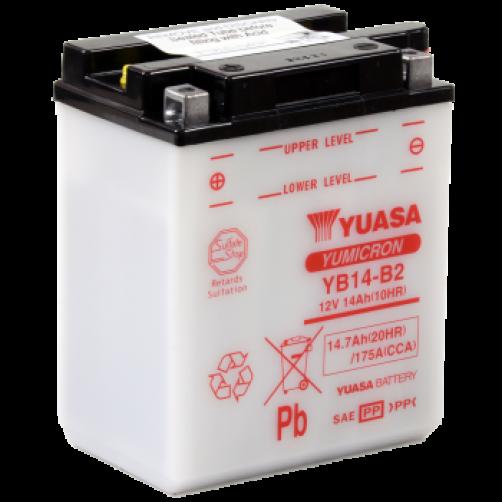 Baterie Moto Yuasa YuMicron 14 Ah (YB14-B2)